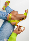 Fluorescent Jelly Buckle Strap Sandals-Seo optimizer Test