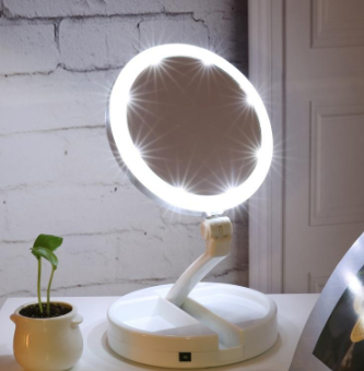 LED Lighted Folding Vanity and Travel Mirror-Seo optimizer Test