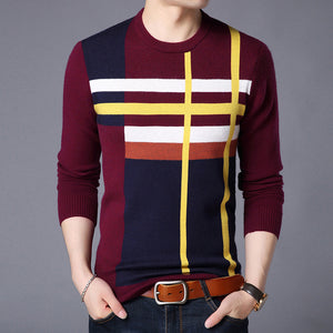 Spring and autumn casual handsome base coat Korean version of sweater