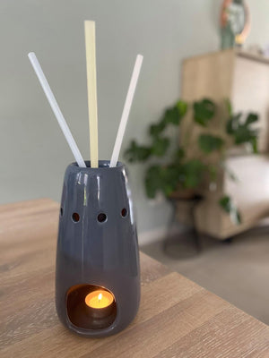 ScentSticks Burner Vase Black