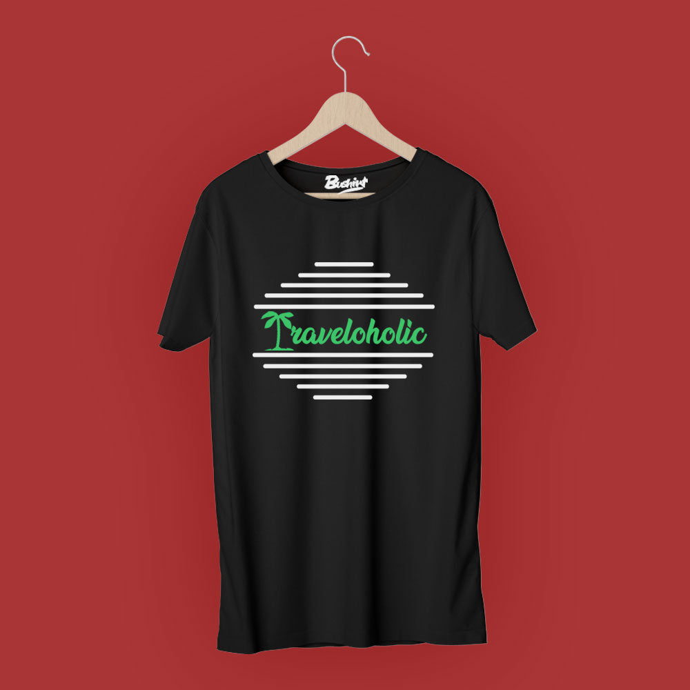 Traveloholic T-Shirt - Bushirt