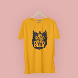 Beard Needs Beer T-Shirt - Bushirt
