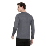 Dark Grey Full Sleeves T-Shirt - Bushirt