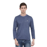 Blue Full Sleeves T-Shirt - Bushirt
