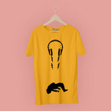 Head Phone T-Shirt
