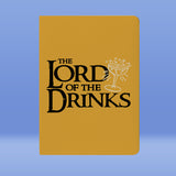 Lord Of The Drinks Notebook - Bushirt