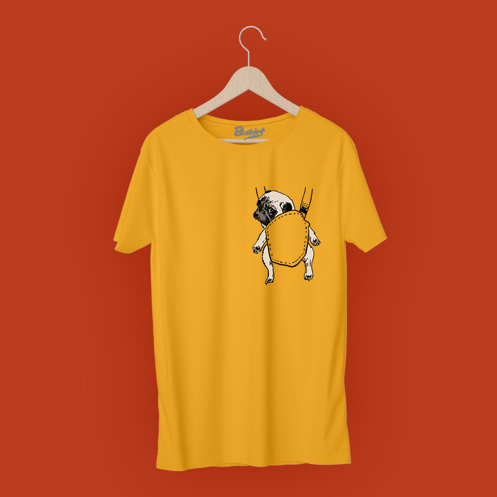 Pug Pocket T-Shirt