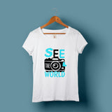 See the World T-Shirt - Bushirt