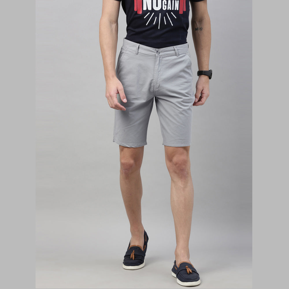Polar Blue Chino Shorts - Bushirt