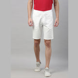 White Chino Shorts - Bushirt