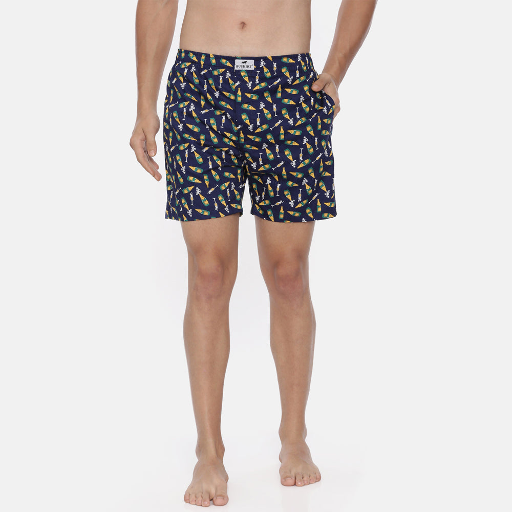 Chill Out Printed Boxer