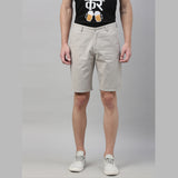 Grey Chino Shorts - Bushirt