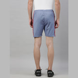 Steel Blue Tape Shorts - Bushirt
