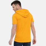 Beliver Mustard Half Sleeves Hoodies