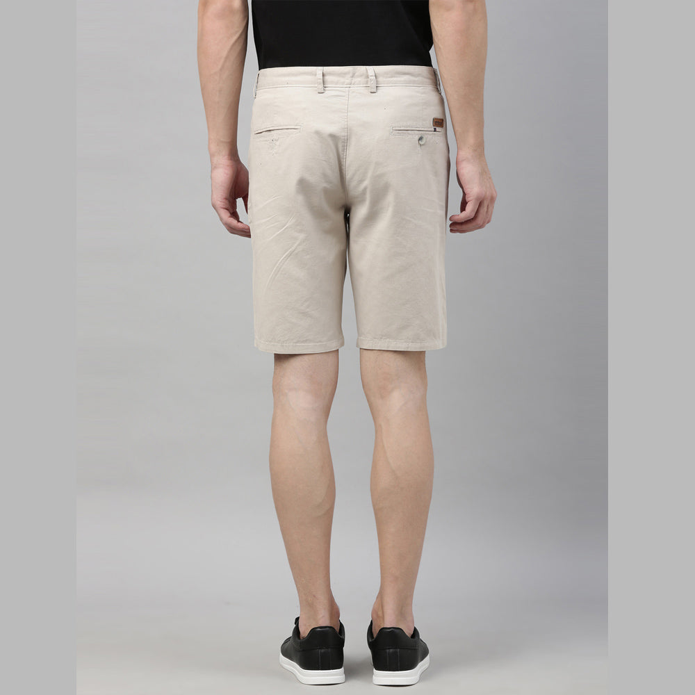 Cream Chino Shorts - Bushirt