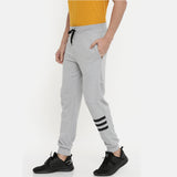 Light Grey Men Joggers