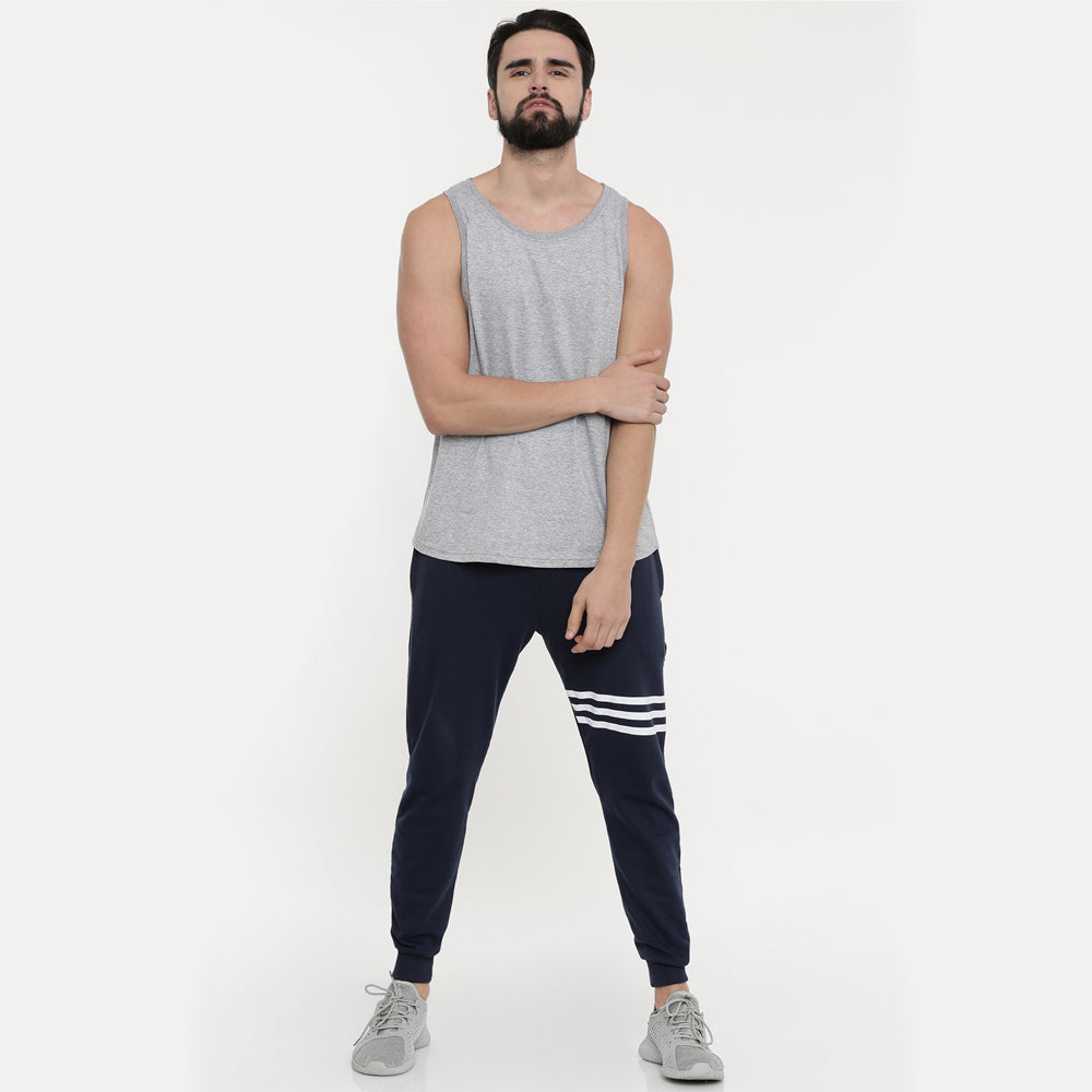 Dark Grey Sleeveless T-Shirt - Bushirt