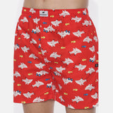 Shark Printed Boxer