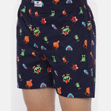 Monster Printed Boxer