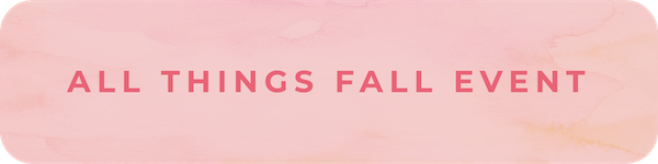 All Things Fall Event