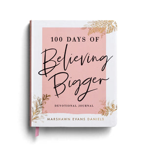 Pink and White Book - 100 Days of Believing Bigger