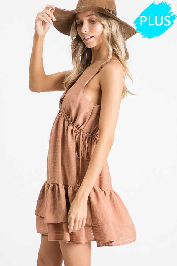 Delilah Ruffle Dress