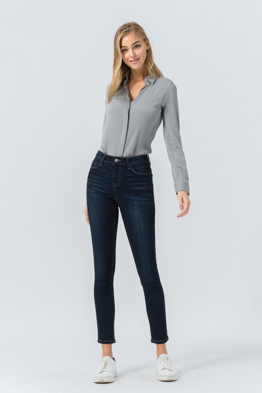 Julie Mid Rise Skinny Ankle Denim