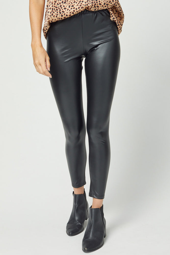 Emma Faux Leather Leggings