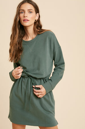 Let's Get Comfy Dress