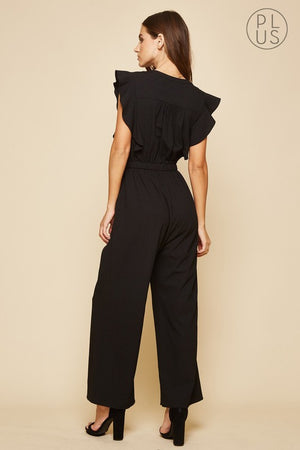 Peyton V-Neck Jumpsuit