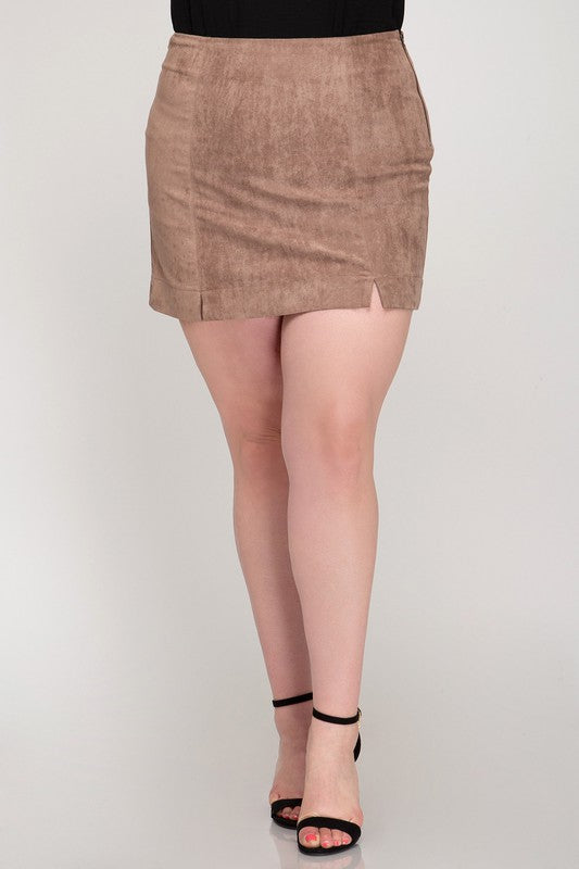 Load image into Gallery viewer, Cinnamon Spice Mini Skirt