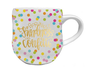 Load image into Gallery viewer, Kindness Like Confetti Coffee Mug - 16 oz.