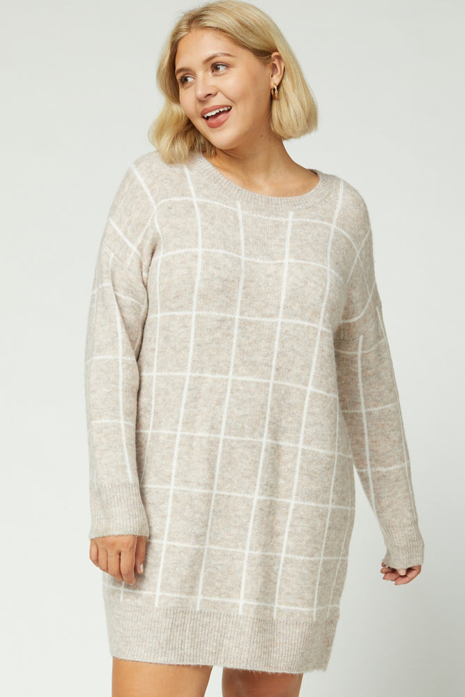 S'mores by the Fireside Sweater Dress