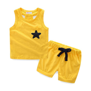 Star Polka Dot Children Outfit