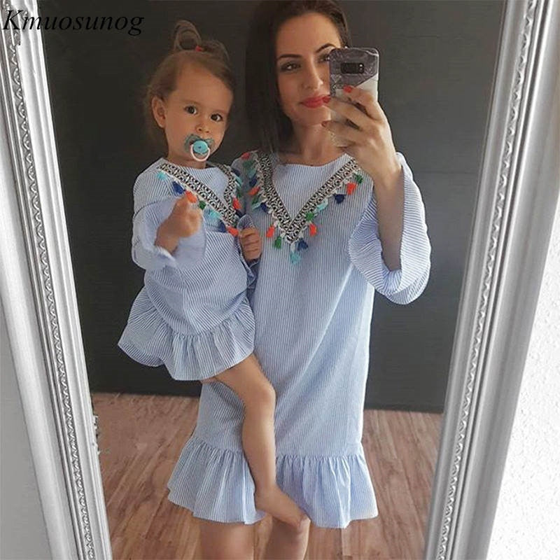 Mommy and Me Matching Floral Outfit