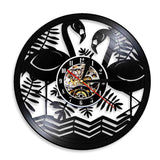 Horloge LED<br> Flamants Roses - Horloge Design
