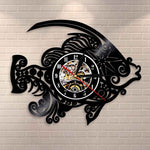 Horloge LED<br>Poisson Steampunk - Horloge Design