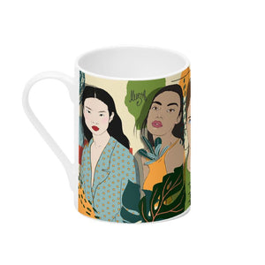 Bone China Mug by @Musya