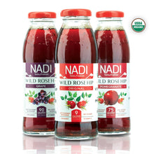 Load image into Gallery viewer, NADI - Wild Rosehip - Pomegranate - Organic Juice - 12pk