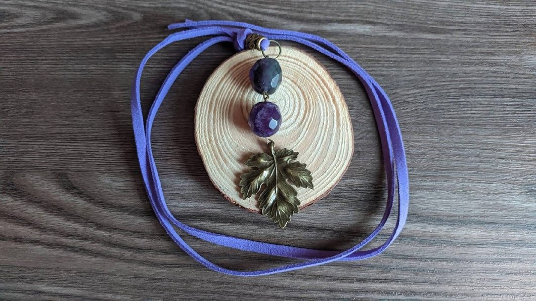 Saperavi necklace