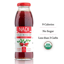 Load image into Gallery viewer, NADI - Wild Rosehip - Original - Organic Juice - 12pk