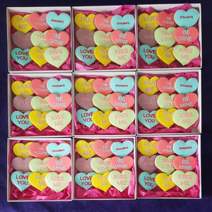 "Ginger cookies gift box ""LOVE"""