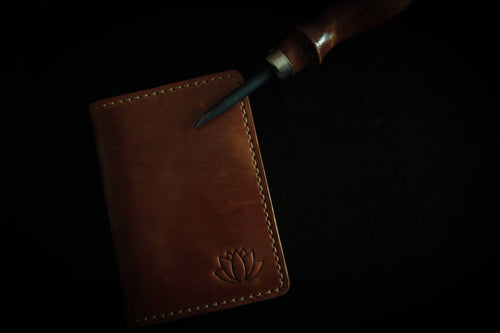 Handmade Bifold Leather Wallet