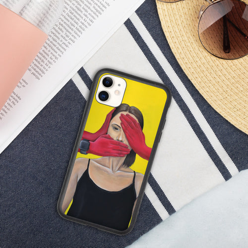 Biodegradable phone case (iPhone) by Musya