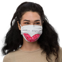 Load image into Gallery viewer, Still Poutin' Face Mask by Marika Kochiashvili