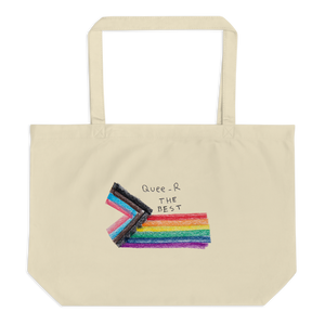 Eco organic tote back Queer The Best