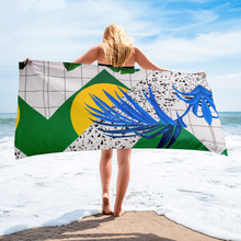 Load image into Gallery viewer, Beach Towel (Abstract) by @Musya