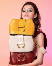 Load image into Gallery viewer, Handmade Natural Leather Handbag, Mustard