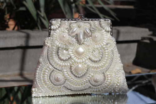 Bag with Pearls and Swarovski