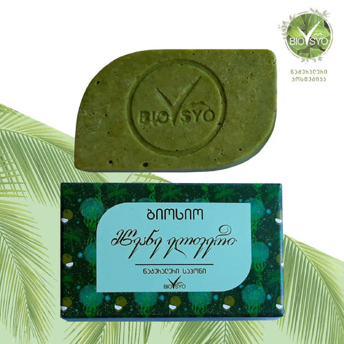 Biosyo - Soap Spirulina - For dry skin - Smooth and soft skin - 50 g